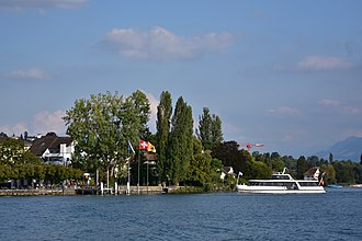 Männedorf - The ZSG landing stage at Männedorf