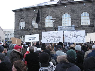 2009 Icelandic financial crisis protests