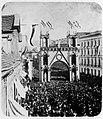 Müller, Heinrich - Truppeneinzug in Magdeburg, vermutlich nach der »Schlacht« von Langensalza, Magdeburg (Zeno Fotografie).jpg