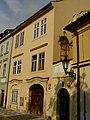 Měšťanský dům U černé růže (Staré Město), Praha 1, Anežská 6, Staré Město.JPG