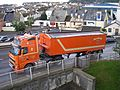 """M. Way & Son artic tipper """"Lady Catherine"""" (Y100 WAY), Port of Teignmouth, 20 July 2012.jpg"""