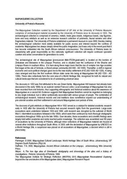 File:MAPUNGUBWE COLLECTION WIKIPEDIA NEW VERSION.pdf