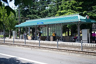 East 162nd Avenue station - Image: MAX East 162nd Avenue Station