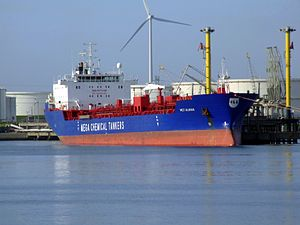MCT Almak p1 at the Calland canal, Port of Rotterdam, Holland 20-May-2007.jpg