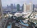MC 澳門 Macau 萬豪酒店 JW Marriott Hotel room 28th Floor view Saturday morning November 2019 SS2 04.jpg