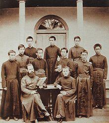 Missionari in Giappone, 1881