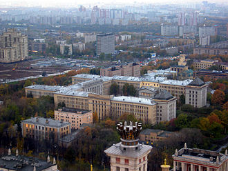 Moscow State University - Building of the Faculties of Biology and of Soil Science