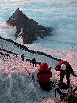 Effects of high altitude on humans - Climbing Mount Rainier.