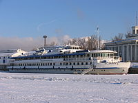 M V Lomonosov in North River Port 31-jan-2012 03.JPG