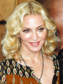 Madonna na premijeri I Am Because We Are 2008. godine