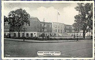 Maggie L. Walker - Maggie Walker High School, Richmond