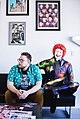 Magician Kyle Marlett with clown.jpg
