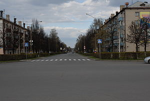 Kanash - Lenina Avenue in Kanash