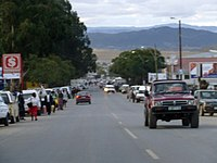 Main street of Mt Frere in northern Transkei (1569848392).jpg