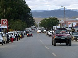Main street of Mount Frere
