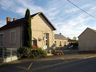 Bouesse - The town hall in Bouesse