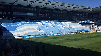 Tifo at the Swedish Cup final in 2016. Malmo FF - BK Hacken 2016 tifo.jpg