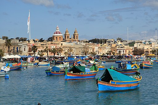 Malta - Marsaxlokk - Xatt is-Sajjieda - Harbour 12 ies
