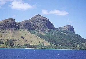 Mangareva - Image: Mangareva Mountains AKK 1784