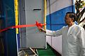 Manish Gupta Cuts the Ribbon - Digital India MSE Bus - Inaugural Function - MSE Golden Jubilee Celebration - Science City - Kolkata 2015-11-17 4920.JPG