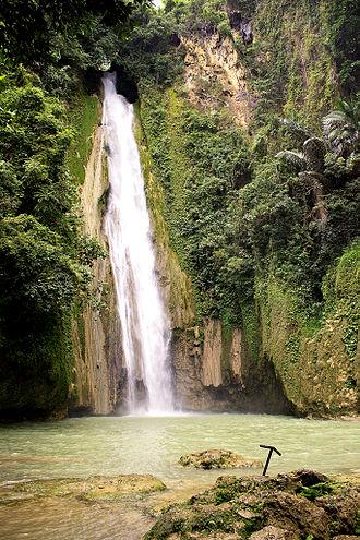 Barili, Cebu - Image: Mantayupan Falls