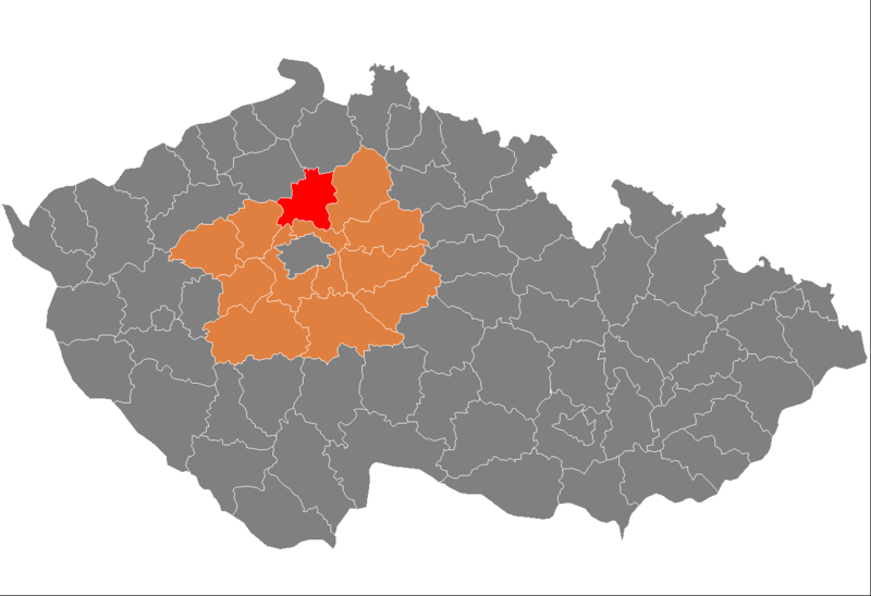 Fail:Map CZ - district Melnik.PNG