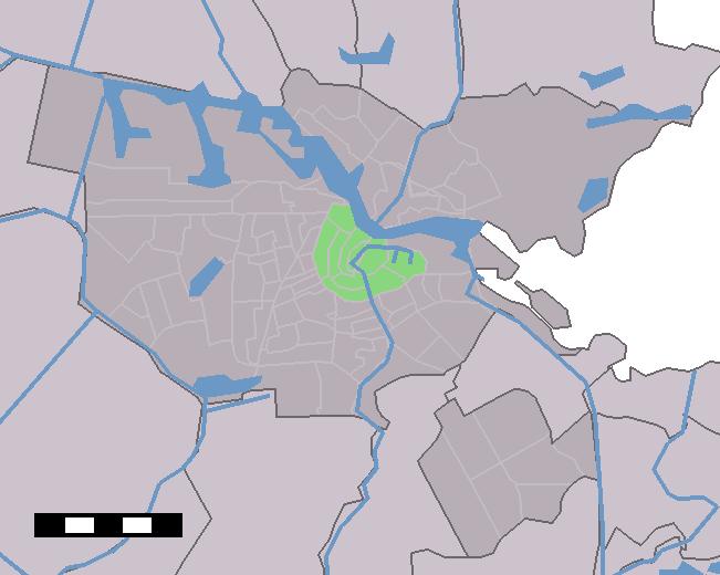 Map NL - Amsterdam - Stadsdeel Binnenstad