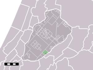 Burgerveen - Image: Map NL Haarlemmermeer Burgerveen