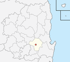 Location of Yeongcheon