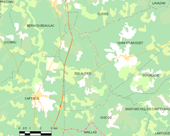 Map commune FR insee code 33155.png