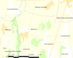 Map commune FR insee code 65073.png