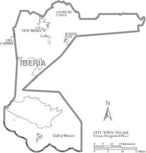 Iberia Parish, Louisiana - Wikipedia, the free encyclopedia