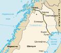 Map of Malmbanan (section) rus.png