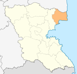Location in Burgas provinceLocation on map of Bulgaria