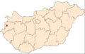 Map of Szombathely.png