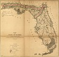 Map of the State of Florida showing the progress of the surveys accompanying annual report of the Surveyor General for 1859. LOC 98688456.jpg