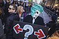 March against Trump, New York City (30833753662).jpg