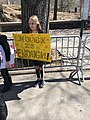March for Our Lives 24 March 2018 in NYC (kid with Enough is Enough sign) 2, 77th and CPW, Manhattan.jpg