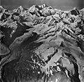 Margerie Glacier, tidewater galcier and hanging glaciers, September 12, 1973 (GLACIERS 5632).jpg