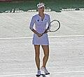 Maria Sharapova in Russian team uniform.JPG