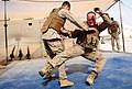 Marines spar during a martial arts course (4809962248).jpg