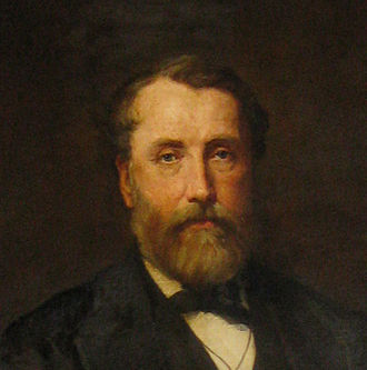 University of Sheffield - Portrait of Mark Firth, opened Firth College in 1879