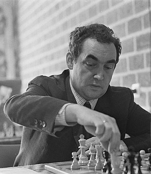 Tata Steel Chess Tournament - Mark Taimanov, Hoogovens 1970