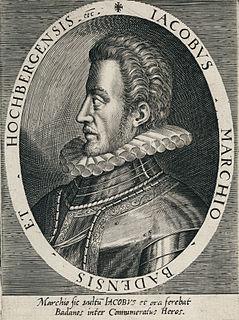 James III, Margrave of Baden-Hachberg Margrave of Baden-Hachberg