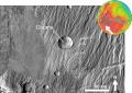 Martian impact crater Cooma based on day THEMIS.png