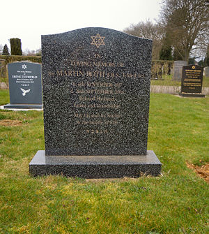 Martin Roth (psychiatrist) - The grave of Sir Martin Roth in Cambridge City Cemetery