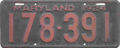 Maryland license plate, 1924.png
