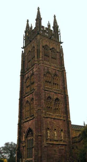 Somerset towers - Image: Marymagdalenetaunton