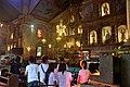 Mass in progress inside Baclayon church (9277964752).jpg