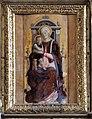 Matera, san francesco, interno, organo settecentesco con cantoria che ingloba pannelli di lazzaro bastiani, 04 madonna.jpg